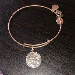 Alex & Ani Positive Bracelet